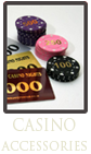 Buy Casino Accessories | MCN Casino Equipment | Casino Table Hire and Sales, North West